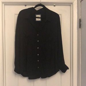 Style & Co long sleeve Black shirt Size 2XL